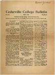 Cedarville College Bulletin, July 1926