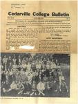 Cedarville College Bulletin, January 1938