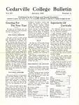 Cedarville College Bulletin, January 1931