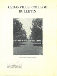 Cedarville College Bulletin, April 1936