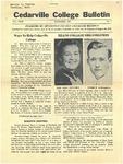 Cedarville College Bulletin, November 1937