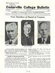 Cedarville College Bulletin, June 1937