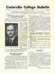 Cedarville College Bulletin, July-August 1939