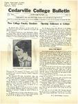 Cedarville College Bulletin, September-October 1939
