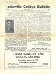 Cedarville College Bulletin, May 1941