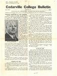 Cedarville College Bulletin, August 1941