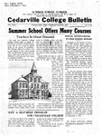 Cedarville College Bulletin, February-March 1942