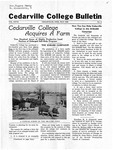 Cedarville College Bulletin, May 1942