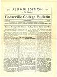 Cedarville College Bulletin, October 1932