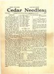 Cedar Needles, December 10, 1928 by Cedarville College