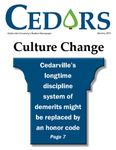 Cedars, January 2012 by Cedarville University