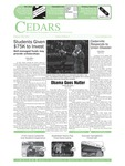 Cedars, February 28, 2008 by Cedarville University