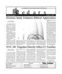 Cedars, October 5, 2001 by Cedarville University