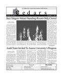 Cedars, November 2, 2001 by Cedarville University