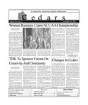Cedars, November 16, 2001
