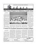 Cedars, December 3, 2001 by Cedarville University