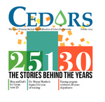 Cedars, October 2015 by Cedarville University