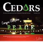 Cedars, December 2016 by Cedarville University
