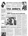 Cedars, January 17, 1985 by Cedarville College