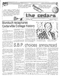 Cedars, February 14, 1985 by Cedarville College