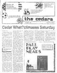 Cedars, November 1, 1984 by Cedarville College