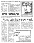 Cedars, October 11, 1984 by Cedarville College