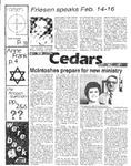 Cedars, February 2, 1984