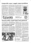 Cedars, June 1, 1981