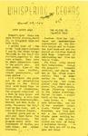 Whispering Cedars, March 29, 1957