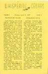 Whispering Cedars, April 5, 1957
