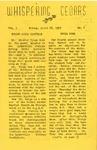 Whispering Cedars, April 26, 1957