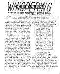 Whispering Cedars, February 14, 1958