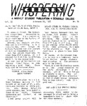 Whispering Cedars, February 28, 1958 by Cedarville College
