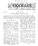 Whispering Cedars, October 15, 1958 by Cedarville College