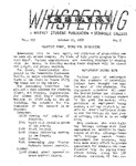 Whispering Cedars, October 22, 1958 by Cedarville College