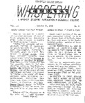 Whispering Cedars, October 31, 1958 by Cedarville College