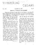 Whispering Cedars, December 11, 1958