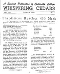 Whispering Cedars, October 6, 1962 by Cedarville College