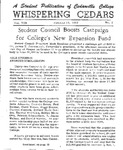 Whispering Cedars, October 19, 1962 by Cedarville College