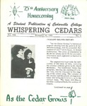 Whispering Cedars, November 16, 1962 by Cedarville College