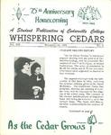 Whispering Cedars, November 16, 1962