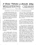 Whispering Cedars, April 19, 1963 by Cedarville College