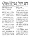 Whispering Cedars, May 3, 1963 by Cedarville College