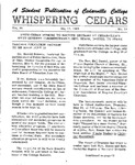 Whispering Cedars, May 17, 1963 by Cedarville College
