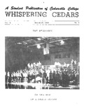 Whispering Cedars, March 24, 1964 by Cedarville College