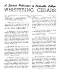 Whispering Cedars, May 6, 1964 by Cedarville College