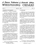 Whispering Cedars, May 21, 1964 by Cedarville College