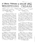 Whispering Cedars, December 9, 1964 by Cedarville College