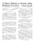 Whispering Cedars, December 16, 1964
