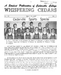 Whispering Cedars, March 25, 1965 by Cedarville College